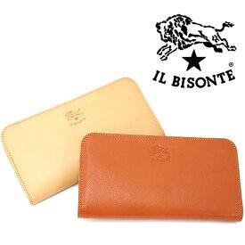 IL BISONTE イルビゾンテ L字ファスナー長財布 C0909 全2色 イルビゾンテ 財布