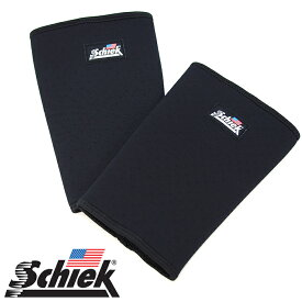 Schiek シーク ニースリーブ ブラック 膝サポーター 1150KS Knee Sleeve 筋トレ ウエイトトレーニング ジム スクワットの必需品 ひざの保護