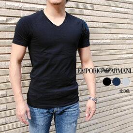 EMPORIO ARMANI エンポリオ アルマーニ 半袖VネックTシャツ 全3色 111760 9P725 アルマーニ tシャツ