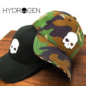 HYDROGEN ハイドロゲン ベースボールキャップ スカル SKULL HYDROGEN CAP RG3004 全2色 ハイドロゲン キャップ ハイドロゲン 帽子