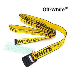 OFF WHITE オフホワイト ベルト インダストリアル メンズ イエロー OMRB012F19647003 OFF-WHITE オフホワイト ベルト
