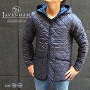 LAVENHAM ラベンハム メンズ フーデッド キルティングジャケット CRAYDON クレイドン 全2色 ラベンハム メンズ ラベンハム キルティング コート