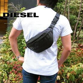 DIESEL ディーゼル ボディバッグ ベルトバッグ ウエストポーチ ブラック X06090 P2249 H5067 ディーゼル バッグ diesel バッグ F-SUSE BELT
