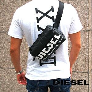 DIESEL ディーゼル ボディバッグ ベルトバッグ ウエストポーチ ブラック X07280 P3188 T8013 ディーゼル バッグ diesel バッグ F-BOLD BELTBAG