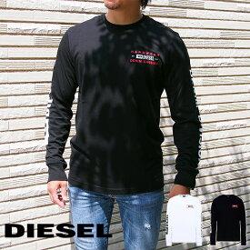 DIESEL ディーゼル ロングTシャツ ロンT 全2色 T-DIEGOS-LS-K40 A00355 0AAXJ ディーゼル tシャツ 長袖