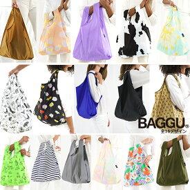 BAGGU バグゥ エコバッグ Mサイズ 全16デザイン STANDARD BAGGU スタンダードバグー ショッピングバッグ レジバッグ メール便可