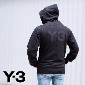 Y-3 ワイスリー バックロゴ ジップアップパーカー ブラック FN3363 M CLASSIC BACK LOGO FULL-ZIP HOODIE ヨウジヤマモト Yohji Yamamoto アディダス adidas y3 パーカー
