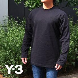 Y-3 ワイスリー ロングTシャツ ロンT FN3361 M CL CHEST LOGO LS T BLACK/ブラック レギュラーフィット adidas Yohji Yamamoto アディダス y3 ロンT 長袖Tシャツ y-3 tシャツ