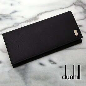 Dunhill ダンヒル 長財布 Plain プレーン ブラック 20R2P12PC001R ダンヒル 財布 ダンヒル 長財布 父の日ギフト