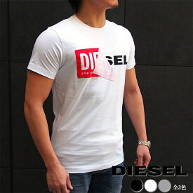 DIESEL ディーゼル 半袖クルーネックTシャツ 全3色 ディーゼル tシャツ 00S02X 0091B T-DIEGO-QA MAGLIETTA