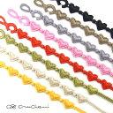 CRUCIANI クルチアーニ 刺繍ブレスレット ハート 全20色【メール便で送料無料(日時指定・代引不可)】