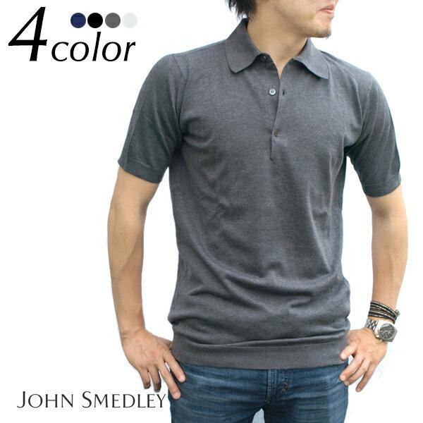 JOHN SMEDLEY ジョンスメドレー スタンダードフィット 半袖ポロシャツ ADRIAN 全4色 ニットポロ サマーニット ジョンスメドレー ポロシャツ