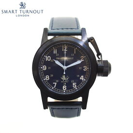 SMART TURNOUT スマートターンアウト STJ003BKNV-RN20 メンズ ウォッチ 腕時計 時計 ネイビー クオーツ 替えベルト付き
