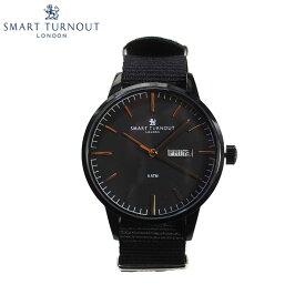 SMART TURNOUT スマートターンアウト STH4 BK-BK メンズ ウォッチ 腕時計 時計 ブラック クオーツ ナイロンベルト