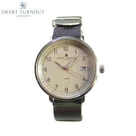 SMART TURNOUT スマートターンアウト STH3 BE-CAM メンズ ウォッチ 腕時計 時計 ベージュ×カモフラージュ クオーツ ナイロンベルト