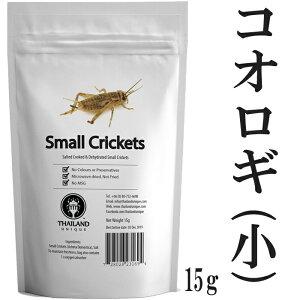 昆虫食 ヨーロッパイエコオロギ 15g 塩味 閲覧注意 高蛋白で低糖質 昆虫 食用 入門 Small Crickets パーティーグッズ 罰ゲーム 宴会