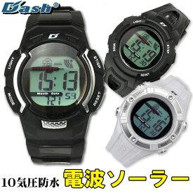 メンズ 腕時計 電波 ソーラー DASH ブランド ウォッチ リチウム 人気 デュアルパワー駆動 大人気 WATCH うでどけい とけい【腕時計】【メンズ】AD0651 送料無料