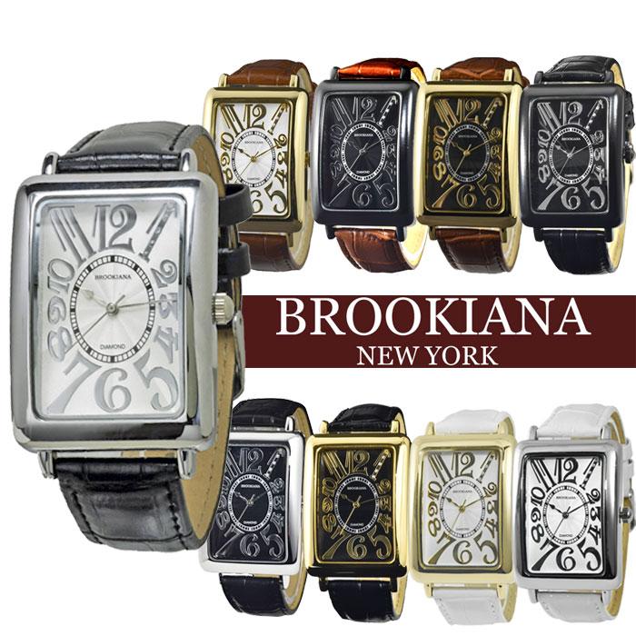 腕時計 メンズ BROOKIANA ブルッキアーナ メンズ腕時計 ブランド ウォッチ 天然ダイヤモンド BA5101 送料無料