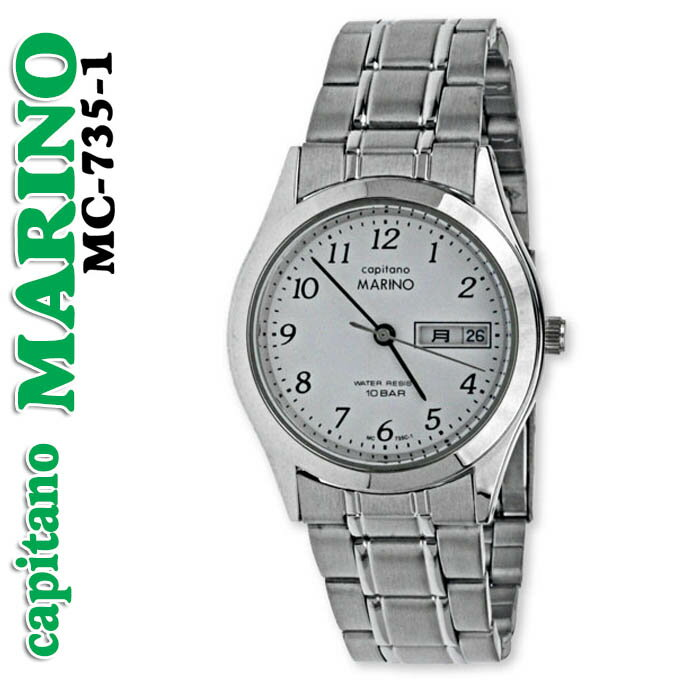 送料無料 メンズ 腕時計キャピターノ マリノcapitano MARINO MC-735-1