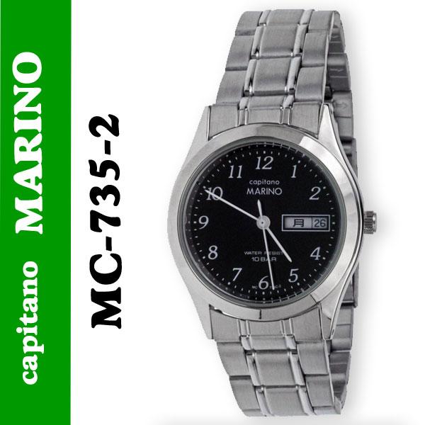 送料無料 メンズ 腕時計キャピターノ マリノcapitano MARINO MC-735-2