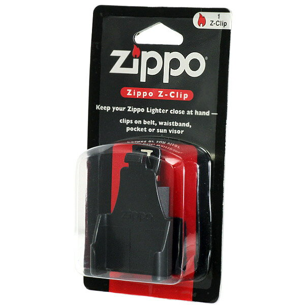 ZIPPO 携帯ケース ブラックZ-CLIP