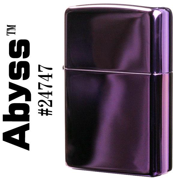 ジッポ ライター zippo ジッポライター 24747 【ネコポス対応可】Abyss アビス ジッポーライター ZIPPO lighter