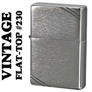 【ZIPPO】フラットトップビンテージジッポーライター・ブラッシュクローム1937