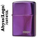 zippo(ジッポーライター)24747ABYSS(アビス)ZIPPOロゴ入り #24747ZL