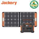Jackery ポータブル電源 ソーラーパネル セット 1000 ポータブル電源 1002Wh SolarSaga100 ソーラーパネル 100W ソー…
