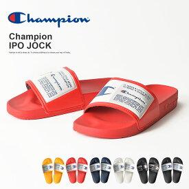 Champion IPO JOCK メンズ Champion チャンピオン IPO サンダル 履きやすい むれない つっかけ 歩きやすい おしゃれ メンズ ベランダ オフィス スポーツ 室内 やわらかい JOCK