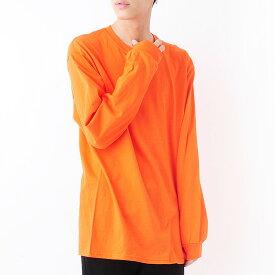 【メール便送料無料】 GILDAN ギルダン 6oz ウルトラコットン 長袖 Tシャツ メンズ 大きいサイズ T2400 長袖無地Tシャツ 無地T シンプル 大きめ ビッグシルエット リブ有り ロンT ロングスリーブ 無地ボディ