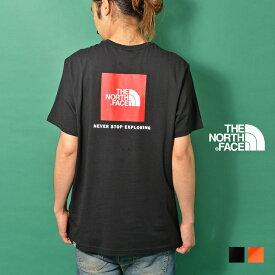THE NORTH FACE(ザ・ノース・フェイス) ボックスロゴ Tシャツ メンズ 半袖 カットソー プリント