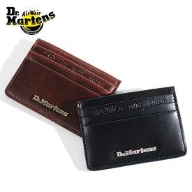 Dr.martens/ドクターマーチン Leather Card Holder KIEV CARD HOLDER レザーカードホルダー AC822001 [メンズ ICカード 本革 名刺入れ スマート キャッシュレス SUICA イギリス おしゃれ かっこいい 冬 大人 彼氏 プレゼント]
