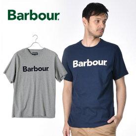 Barbour/バブアー ロゴTシャツ LOGO TEE MTS0531 [メンズ Tシャツ バーブァー おしゃれ かっこいい ビジネス 紳士 スプリングジャケット 春服 春物 春 大人 彼氏 プレゼント]