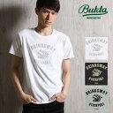 Bukta/バクタ カレッジTシャツ(tiger) B5S02[メンズ 半袖 Tシャツ カットソー ティーシャツ カットソー おしゃれ かっ…