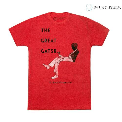 Out Of Print/アウトオブプリント The Great Gatsby B-1096[メンズ 半袖 Tシャツ ティーシャツ カットソー おしゃれ かっこいい 紳士 秋服 秋物 秋 冬服 冬物 冬 大人 彼氏 プレゼント]