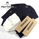 nigel cabourn/ナイジェル・ケーボン 3パックジムTシャツ 3-PACK GYM TEES 8040021050[メンズ Tシャツ 半袖 3枚セット...