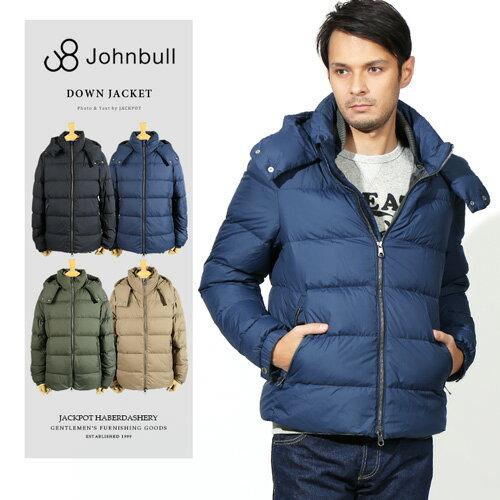 [SALE]Johnbull/ジョンブル ダウンジャケット DOWN JACKET 16552[メンズ コート ジャケット ダウン フェザー 軽い 暖か ナイロン 防寒 アウトドア おしゃれ かっこいい 紳士 春服 春物 春 夏服 夏物 夏 大人 彼氏 プレゼント]