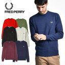 FRED PERRY/フレッドペリー クラシッククルーネックセーター CLASSIC CREW NECK SWEATER K4501[メンズ セーター クル…