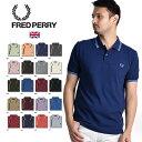 [21春夏SALE] FRED PERRY/フレッドペリー ポロシャツ TWIN TIPPED POLOSHIRT M3600 PART3[メンズ 半袖 ポロシャツ カ…