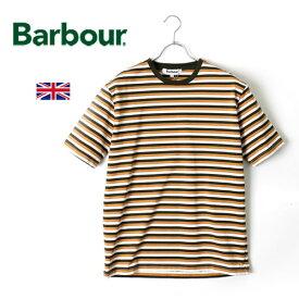 [SALE]Barbour/バブアー 3カラー ボーダーTシャツ BORDER 3COLOUR SMC0019[メンズ Tシャツ バーブァー おしゃれ かっこいい ビジネス 紳士 Tシャツ ボーダー マルチボーダー 夏服 夏物 夏 半袖 大人 彼氏 プレゼント]