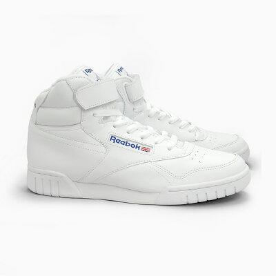 REEBOKCLASSICリーボックスニーカーEX-O-FITHIINTWHITE3477ハイカットホワイト