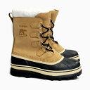 SOREL CALIBOU BUFF NM1000 281 ソレル カリブー スノーブーツ ブーツ メンズ ウィンターブーツ ナイロン 防水 防寒 耐寒 ロングセラー 人気 定番 雪 長靴 冬用 クリ