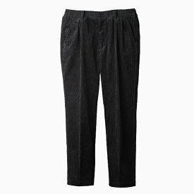 DCBA CORDUROY SLACS [BLACK 5428J941] DC コーデュロイ スラックス メンズ パンツ 黒 BY SON OF THE CHEESE サノバチーズ 2019 FALL WINTER 新作