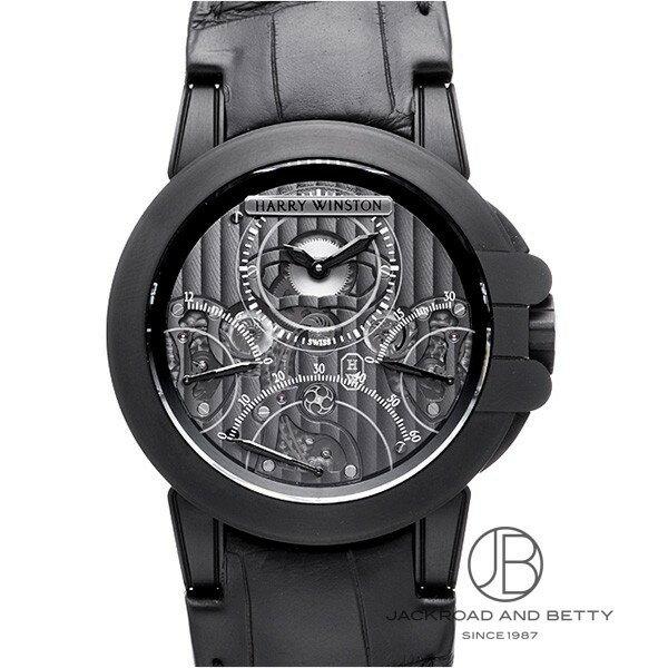 ハリー・ウィンストン HARRY WINSTON オーシャン トリレトロ クロノグラフ ブラックザリウム 400/MCRA44ZKL.S 【新品】 時計 メンズ