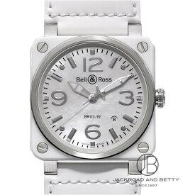 ベル&ロス BELL&ROSS BR03-92 ホワイトセラミック BR03-92WC-CA 新品 時計 メンズ