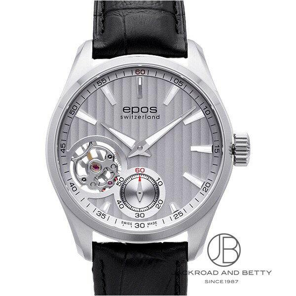 エポス EPOS ラウンド オープンハート ハンドワインド 3403OHSL 【新品】 時計 メンズ
