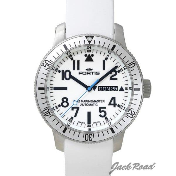 フォルティス FORTIS B-42 ホワイト マリンマスター 647.11.42SI 【新品】 時計 メンズ
