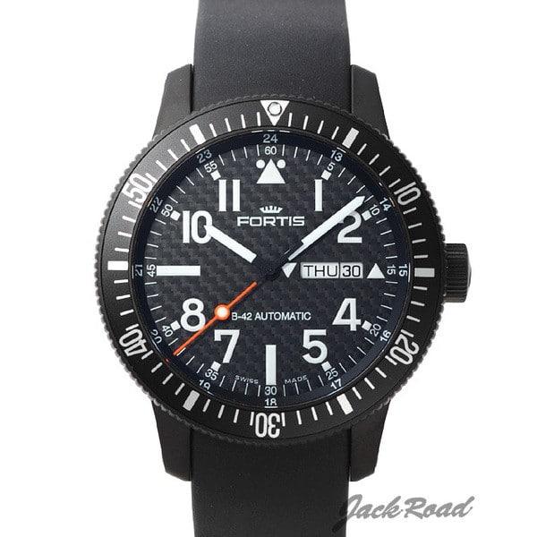 フォルティス FORTIS B-42 ブラック デイデイト 647.28.71K 【新品】 時計 メンズ