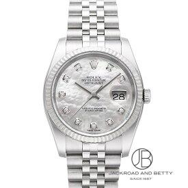 ロレックス ROLEX デイトジャスト シェル10Pダイヤ 116234NG 新品 時計 メンズ